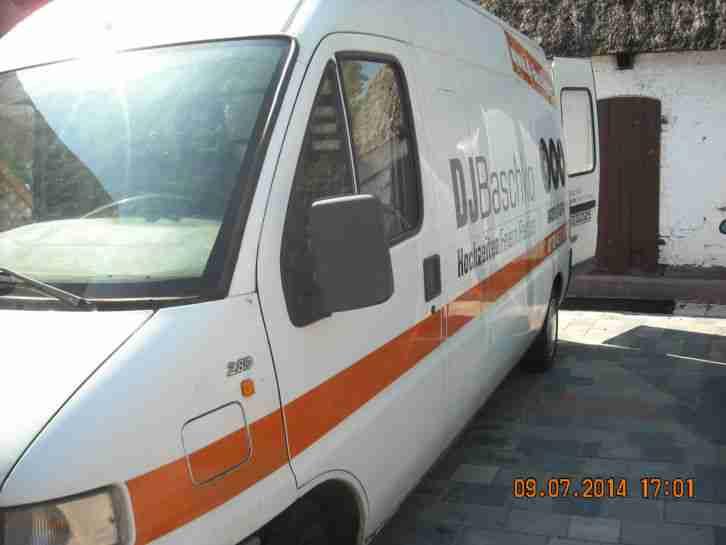 fiat ducato 2 8 l diesel 228 tkm hoch nutzfahrzeuge angebote. Black Bedroom Furniture Sets. Home Design Ideas