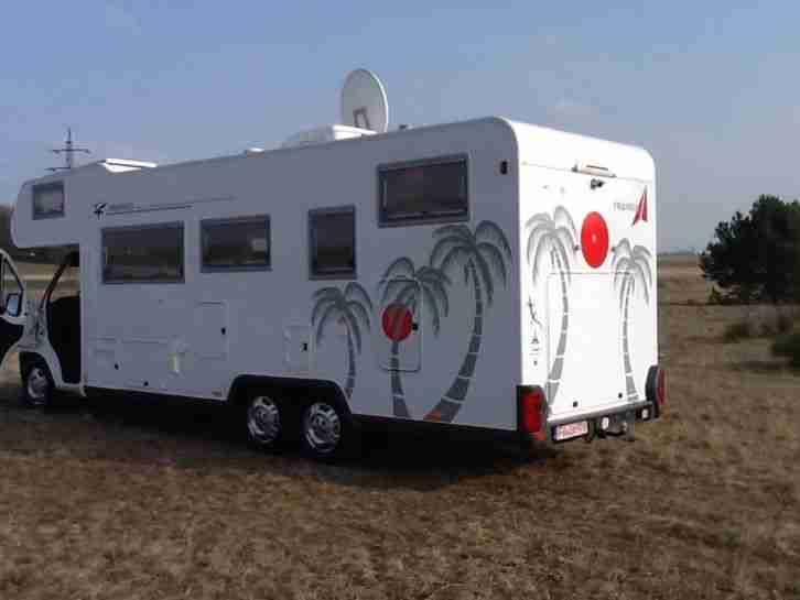 fiat ducato 2 8 idtd 3 achser wohnmobil wohnwagen wohnmobile. Black Bedroom Furniture Sets. Home Design Ideas