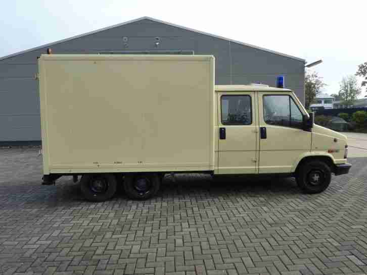 fiat ducato doka 3 achser youngtimer km nutzfahrzeuge angebote. Black Bedroom Furniture Sets. Home Design Ideas