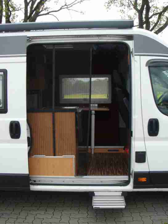 fiat ducato multijet 250 wohnmobil umbau diesel. Black Bedroom Furniture Sets. Home Design Ideas