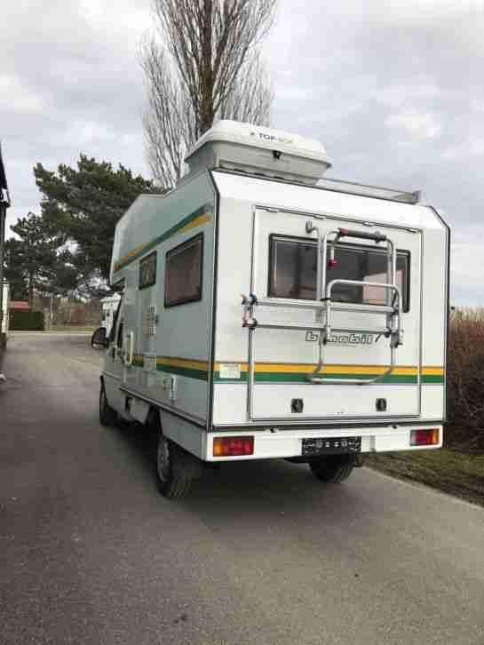 fiat ducato typ 230 4x4 allrad bimobil wohnwagen. Black Bedroom Furniture Sets. Home Design Ideas