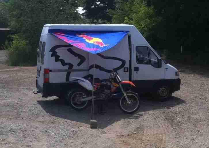fiat ducato wohnmobil motocross transporter mx wohnwagen. Black Bedroom Furniture Sets. Home Design Ideas