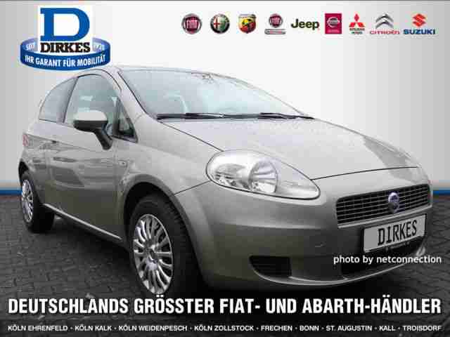 fiat grande punto 1 2 8v dynamic klima hei er verkauf der marke fiat. Black Bedroom Furniture Sets. Home Design Ideas