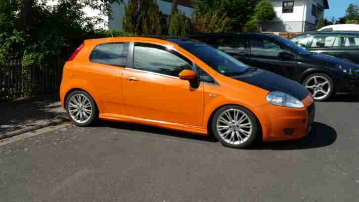 Fiat Grande Punto in Caribian Orange 1.9 JTD