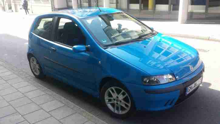 Fiat Punto 1.2 188 16V 80PS Sporting in Blau