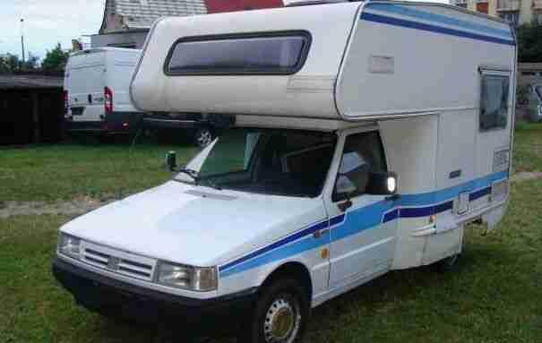 fiat fiorino diesel camper wohnmobil hei er verkauf der. Black Bedroom Furniture Sets. Home Design Ideas
