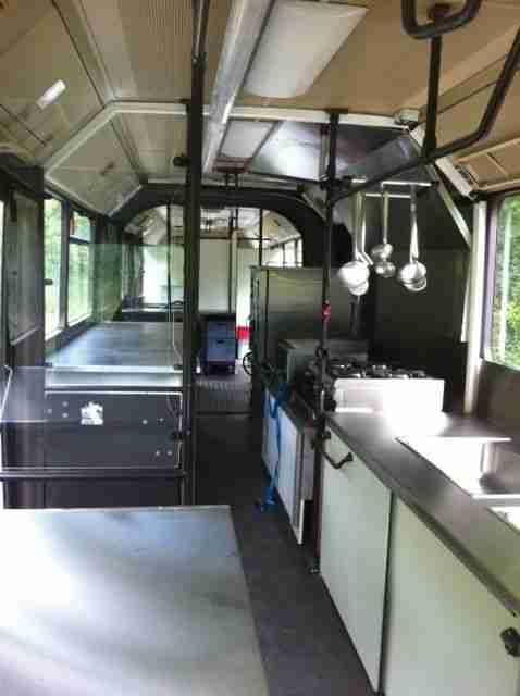 food truck gro k chenfahrzeug gelenkbus mb o. Black Bedroom Furniture Sets. Home Design Ideas