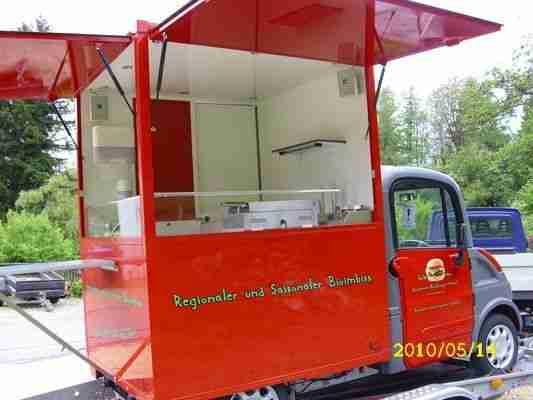foodtruck verkaufsfahrzeug elektromobil mega. Black Bedroom Furniture Sets. Home Design Ideas