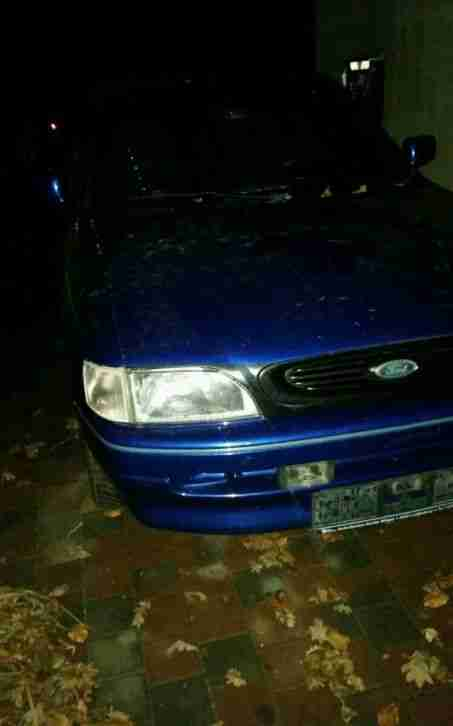 Ford Escort Cabrio 66KW (90 PS)