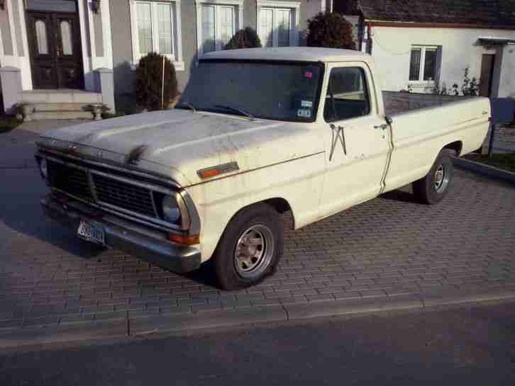 Ford F 100 1971, Long Bed Classic