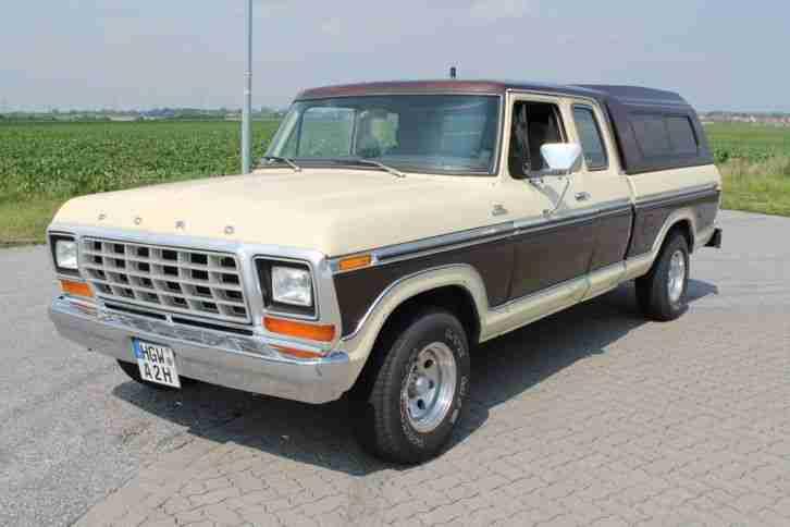 Ford F 150 F100 Pick Up Oldtimer H Kennzeichen - Die besten Angebote amerikanischen Autos.
