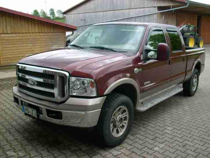 Ford F250 2005 Diesel 6.0 325PS King Ranch LKW - Tolle Angebote von ...