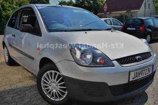 Ford Fiesta Ambiente Klima s.11.07 in 2. Hd!