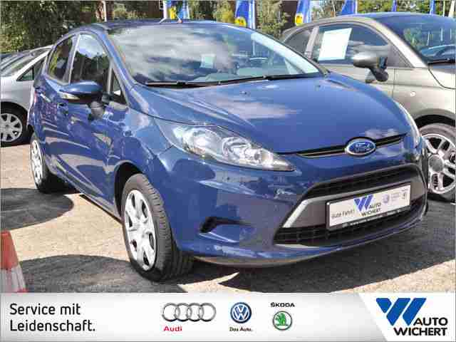Ford Fiesta Trend 1.25 5-Gang KLIMA + RADIO/CD