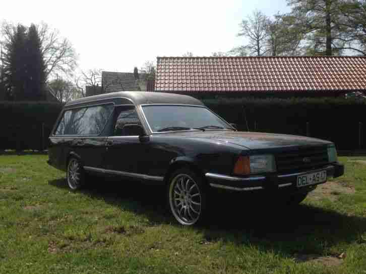 ford granada so kfz bestattungswagen oldtimer topseller. Black Bedroom Furniture Sets. Home Design Ideas