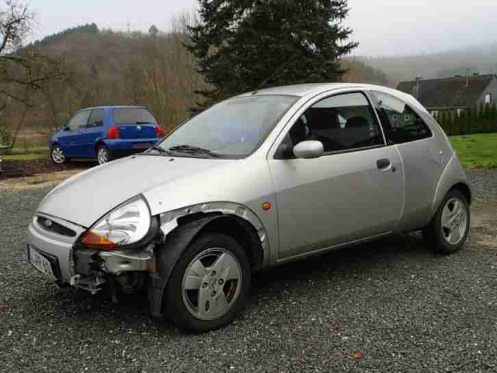 Ford Ka Bj 05/2003 Unfall 44 kw 60 PS Tüv und AU 04/2016