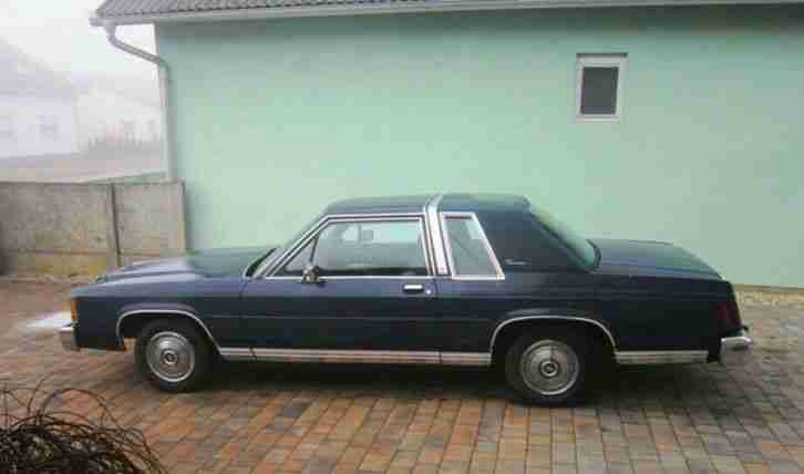 Ford Ltd Crown Victoria Coupe Bj 1985 5, 0 L