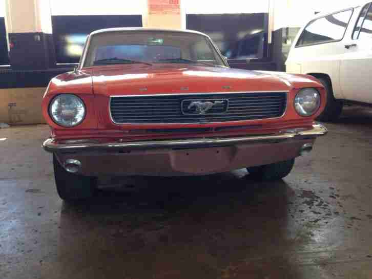 Ford Mustang 147kW 200PS EZ 01/1966
