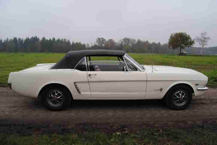 ford mustang 1965 convertible 289 v8 topseller oldtimer. Black Bedroom Furniture Sets. Home Design Ideas