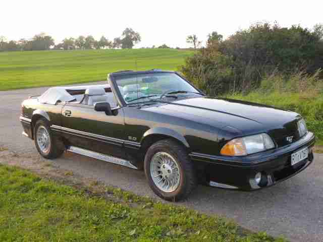 Ford Mustang Cabrio 5, 0 V8, Bj.1990, orig. 43.261