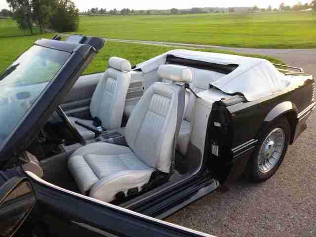 ford mustang cabrio 5 0 v8 orig die besten. Black Bedroom Furniture Sets. Home Design Ideas