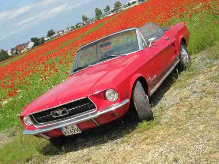 ford mustang cabriolet 1967 die besten angebote amerikanischen autos. Black Bedroom Furniture Sets. Home Design Ideas