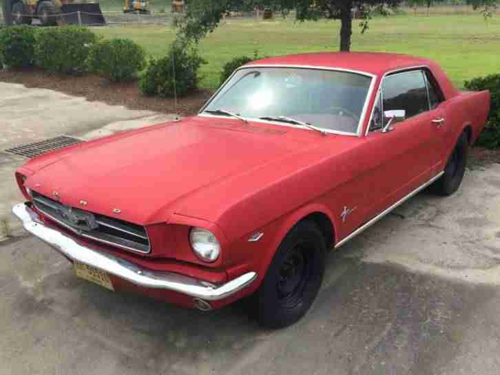 Ford Mustang Coupe 1965 V8 289 automatic CHICAGO USA we