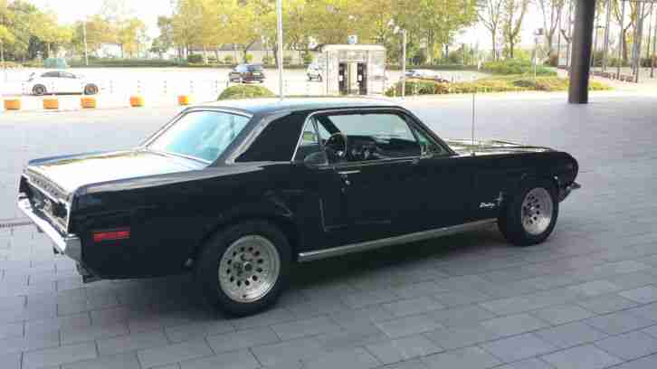 ford mustang coupe 1968 v8 mega sound h tolle angebote von ford fahrzeugen. Black Bedroom Furniture Sets. Home Design Ideas
