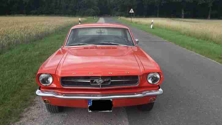 Ford Mustang V8 Coupe 1965