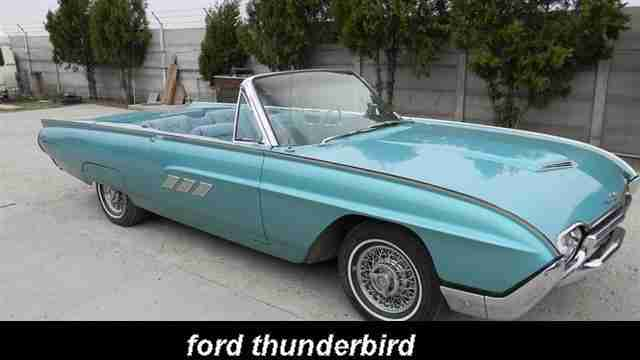 Ford Thunderbird 1963
