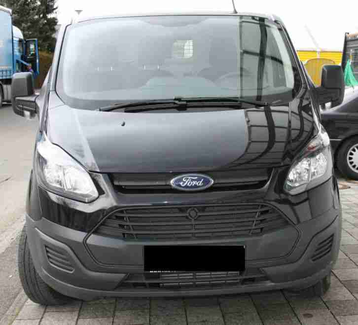 ford transit custom ft 250 kasten schwarz nutzfahrzeuge. Black Bedroom Furniture Sets. Home Design Ideas