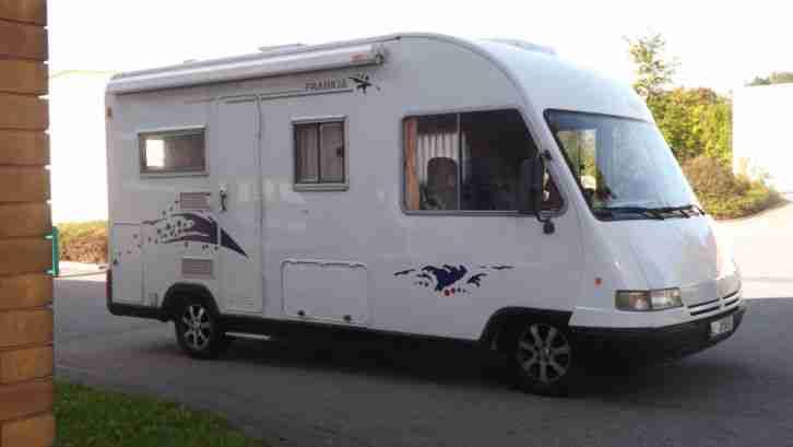 frankia i 620 vollintegriertes wohnmobil wohnwagen wohnmobile. Black Bedroom Furniture Sets. Home Design Ideas