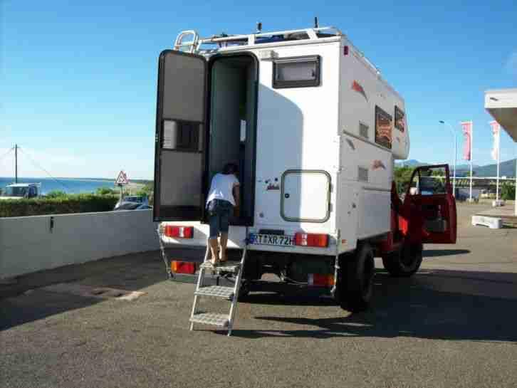 gfk absetzkabine f r pickup camper wohnkabine wohnwagen. Black Bedroom Furniture Sets. Home Design Ideas