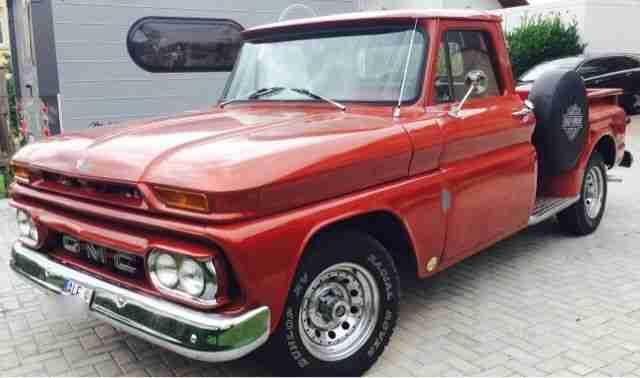 gmc pickup 1966 long bed truck die besten angebote amerikanischen autos. Black Bedroom Furniture Sets. Home Design Ideas
