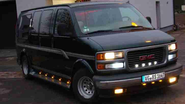 gmc savana chevy van neu t v benzine die besten angebote amerikanischen autos. Black Bedroom Furniture Sets. Home Design Ideas