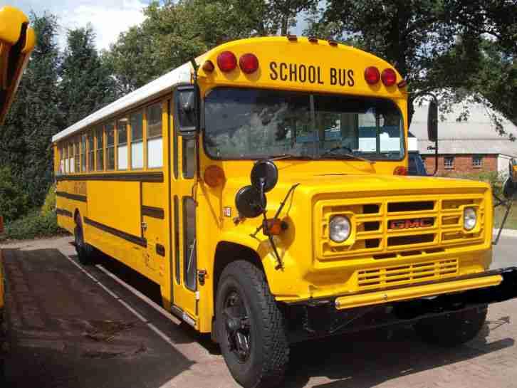 gmc schoolbus chevrolet chevy v8 diesel die besten. Black Bedroom Furniture Sets. Home Design Ideas