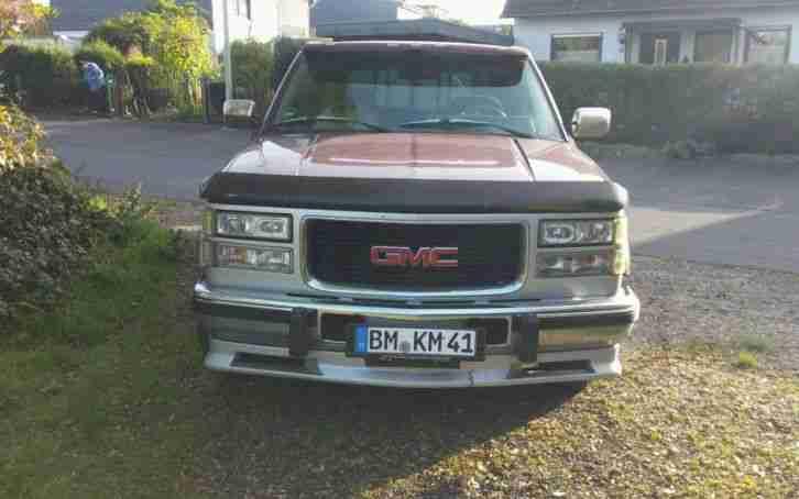 Gmc Sierra Technische Daten >> GMC Sierra C1500 V8 Diesel 6.5 L LKW zulassung - Die besten Angebote amerikanischen Autos.