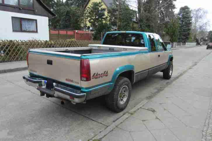 gmc sierra k2500 6 5l diesel pickup lkw die besten angebote amerikanischen autos. Black Bedroom Furniture Sets. Home Design Ideas