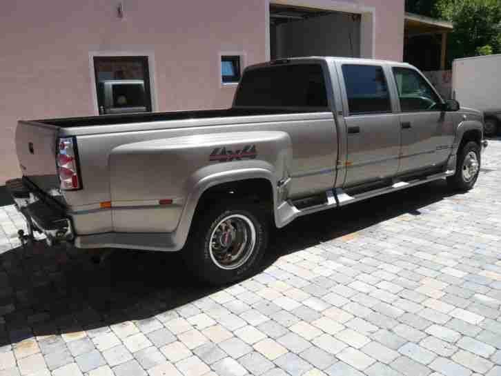 gmc truck sierra k 3500 dually mit 6 5 liter die besten. Black Bedroom Furniture Sets. Home Design Ideas