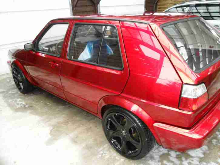 Golf 2 VR6 Candy Rot Tuning
