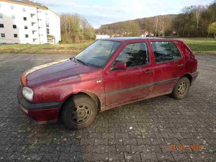 Golf 3 (III) Variant, Young Family, 1,4 60 PS, 17 Monate TÜV, 256 Tkm, EZ 1995