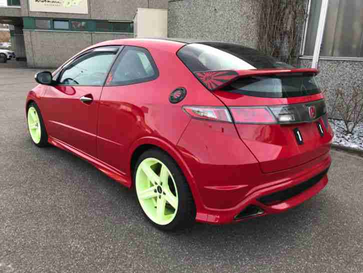 HONDA CIVIC 2, 0i V Tec Type R Tuning 200PS - tolle ...