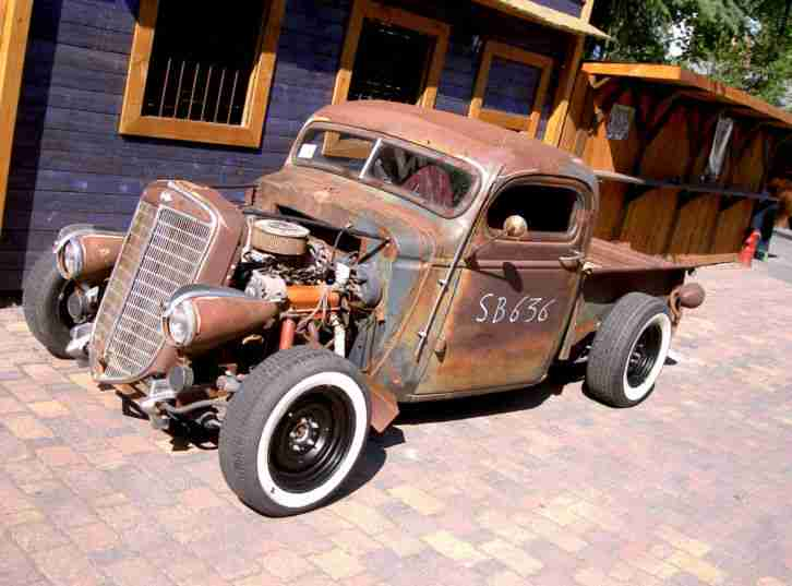 hot rod pick up chevy 1939 rusty rat rod sbc die besten. Black Bedroom Furniture Sets. Home Design Ideas