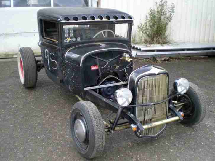"HOT ROD ""rolling Race Projekt"" ""Ford Model A"""