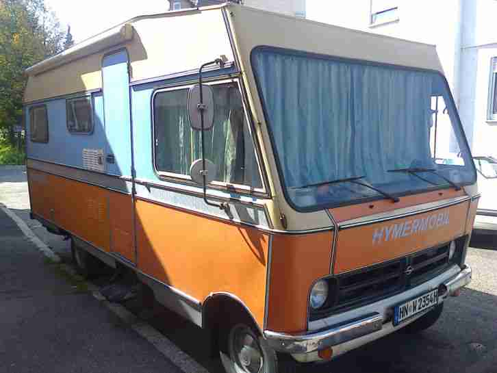 Hymer Bedford Blitz Oldtimer Hu 6 2015 Wohnwagen