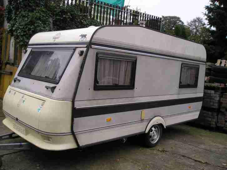 hobby 420 t prestige bj 1990 wohnwagen wohnmobile. Black Bedroom Furniture Sets. Home Design Ideas