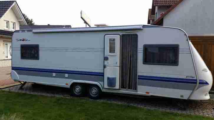 Hobby 650 Kfu Auflastung 2000kg Markise Sat Wohnwagen