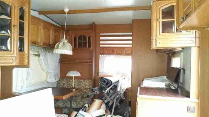 hobby landhaus 750 aus 1 hand v rentnerehepaar wohnwagen wohnmobile. Black Bedroom Furniture Sets. Home Design Ideas