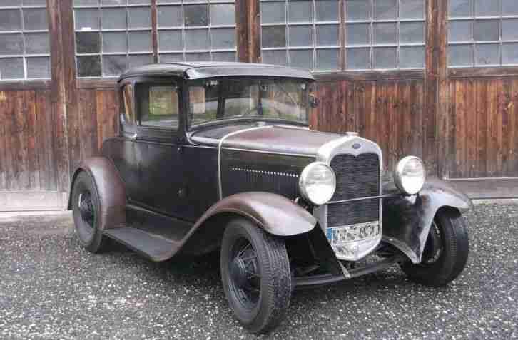 hot rod ford model a coupe 1930 flathead v8 rat topseller oldtimer car group. Black Bedroom Furniture Sets. Home Design Ideas