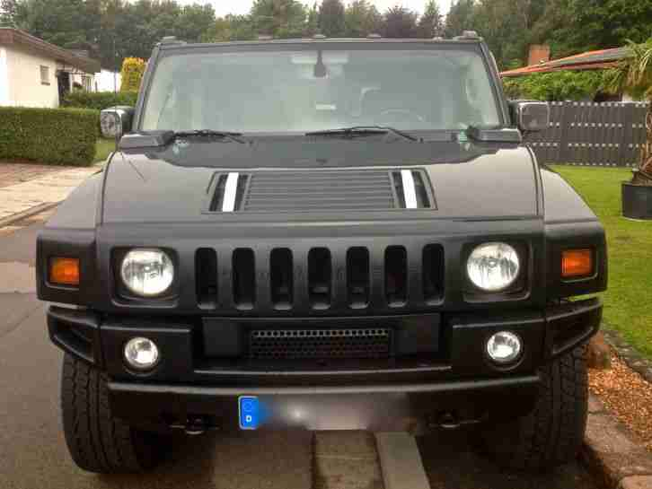 Hummer H2 LUXURY DVD TV NAVI KAMERA TÜV AU